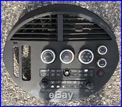 04 05 06 Nissan Quest CD SAT Radio Player AC Climate Control Panel OEM Black