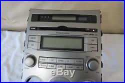 07 08 Hyundai Veracruz CD MP3 XM Radio Player Climate Control Panel Bezel OEM