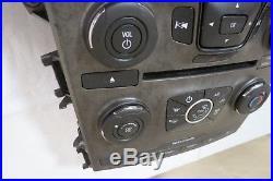 11-13 Ford Explorer CD AUX Radio Player Climate Control Panel Bezel Vents OEM