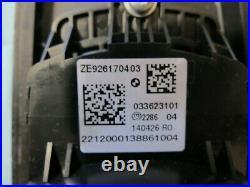 12-17 BMW 3-series Media iDrive Control Knob Joystick Switch Bezel OEM 9232079