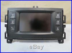 15-16 Chrysler 200 Climate SAT Radio Player Info Dash Display Media Screen OEM