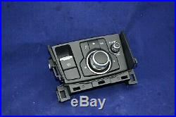 17-18 Mazda 3 6 Radio GPS NAVI Knob Control Panel with Park Brake GMJ666CM0A