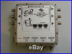 (2) Dish Net Dp34 Dp-34 Mutli-dish Satellite Switch Multiswitch Dish Pro