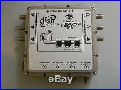 2 Dish Net Dp34 Dp-34 Mutli-dish Satellite Switch Videopath Multiswitch Dish Pro