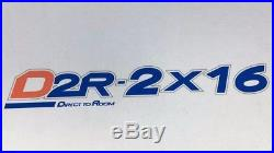 2 X 16 Satellite multiswitch for 2 satellite IF input and 16 satellite receivers