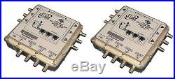 2 x Dish Network DP34 Satellite Multiswitch 3X4 DP 34 Videopath 3 input 4 output