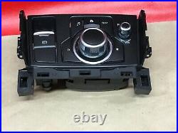 2017-2018 Mazda 3 6 Radio Player GPS NAVI Knob Control Switch Panel OEM