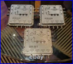 3 x Dish Network DP34 Satellite Multiswitch 3X4 DP 34 Videopath 3 input 4 output
