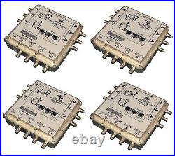 4 x Dish Network DP34 Satellite Multiswitch 3X4 DP 34 Videopath 3 input 4 output