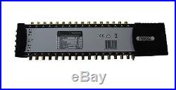 5x32 Satellite/Terrestrial Multiswitch Revez Pro Series Gold Connectors