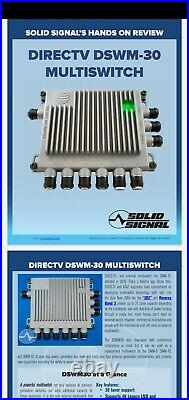 AT&T DIRECTV 30 Tuner Reverse-Band Capable Satellite Multiswitch
