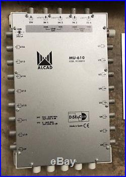 Alcad MU-610 Satellite Multiswitch And Power Supply