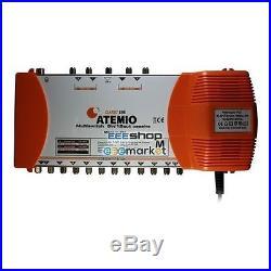Atevio Multischalter Classic-Line 5/12 multiswitch Satellite MS5/12EIP-5