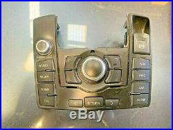 Audi A6 C6 4f 2006-2011 MMI Multi Media Radio Sat Nav Control Panel 4f2919611h