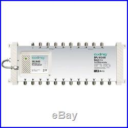 Axing SPU 912-05 9-in-12 DiSEqC Satellite Multiswitch Silver