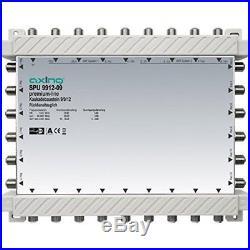 Axing SPU 9912-09 9-in-12 Cascade Unit for DiSEqC Satellite Multiswitch Silver