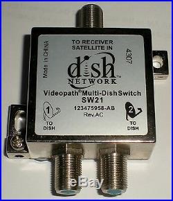 Bell Express Vu Dish Network Satellite Dish Videopath Sw21 Multi Dish Switch New