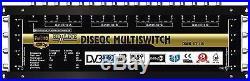 COMMUTATEUR MULTISWITCH 17/8 DISEQC 4 SATELLITES 1 TERRESTRE / 8 DEMOS TV