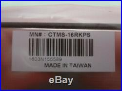 Cable Tronix CTMS-16RKPS Rack Mount Satellite 16-Way Multiswitch New Unused