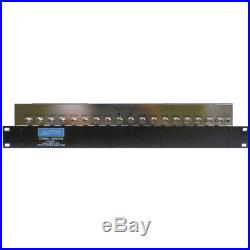 CableTronix CTMS-16RKPS 16-Channel Rack-Mountable Satellite Multiswitch