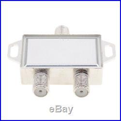 DISEqC 2Way Switch 2 LNB to 1 Satellite Multi FTA Switch 0/22KHz LNBF Switch
