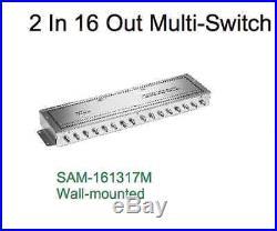 DLS MS-16 SAM-161317 Satellite 2x16 Multi-switch