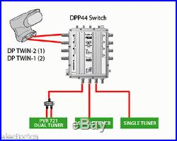 dpp44 dish network multi switch dp lnb satellite dpp 44