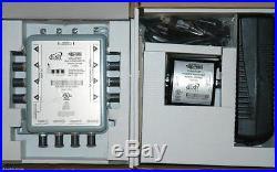 DPP44 DISH NETWORK MULTI SWITCH + POWER DP LNB SATELLITE DPP 44 4X4 HD 118.7 NEW