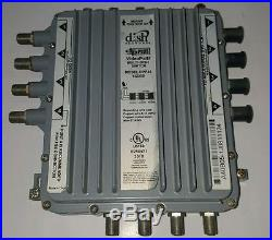 DPP44 DISH NETWORK Multi-Switch DP LNB SATELLITE DPP 44 4X4 HD/Power Supply