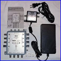 Dpp44 Slim Dish Network Multi Switch Power Supply Dp Satellite Dpp 44 4x4 Hd