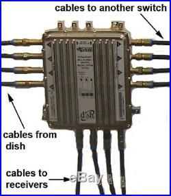 DPP44 SWITCH BELL TV EXPRESS VU Dish Network MULTI LNB SATELLITE DPP 44 HD 4X4