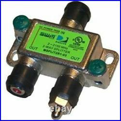 DirecTV 2 Way SWM Green Splitter MSPLIT2R0-01 SWiM 2Way Multi Switch DTV HD 2