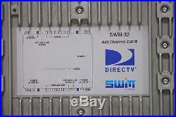 DirecTV SWM-32 Satellite Multiswitch 4x8 Channel SWiM SWM32R1 with Mount