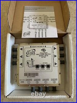 Dish DP34 Satellite Multiswitch 3X4 DP 34 3/4 Multi Switch 3 in 4 output