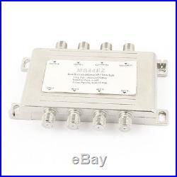 Dish Network DiSEqC 22KHz 4x4 Satellite FTA Multi Switch Multiswitch
