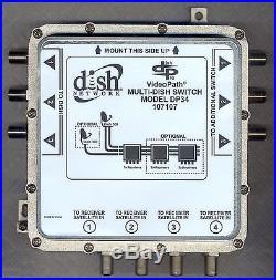 Dish Network DishPro VideoPath 3x4 Satellite MULTI-DISH SWITCH MODEL DP34 107107