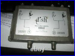 Dish Network Satellite Dish Multi-Switch SW42 123475920 In GOOD Working order