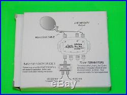 Eagle Aspen DTV3X4 Satellite Switch 3x4 4 Mini Directv MULTI-SWITCH DTV FTA Dish