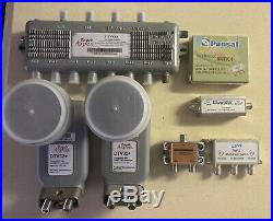 Eagle Aspen Satellite Multi-Switch 4x8 DTV4X8 Dish Directv Bundle