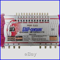 Emp 13-8 MULTI-SWITCH PROFESSIONEL CLASSE MULTICOMMUTATEUR 3 Satellite =