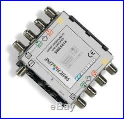 FRACARRO SATELLITE AMPLIFIER SWA5414 InLine DC Input 12-16db Gain MultiSwitch