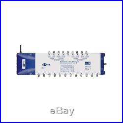 Goobay 67267 Satellite Multiswitch, 9 In / 12 Out