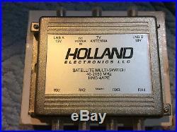 Holland Electronics HMS-4APE Satellite Multi Switch NEW