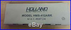 Holland Electronics LLC Satellite Multi-Switch Model HMS-412ARK