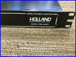 Holland Hms-16apr 16 Channel Rack Mountable Satellite Multi-switch