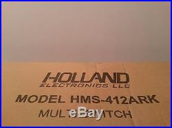 Holland Satellite Multi Switch HMS-412ARK