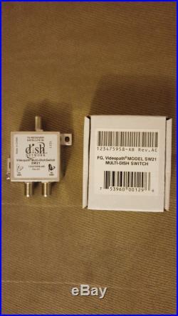LOT 0F 8 SW21 SW 21 Dish Network Original Satellite Multi-Dish Switch Brand New