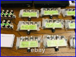 LOT OF 34 DIRECTV 8, 4, 2, Channel Multi-switch SWM SWIM 8 Satellite Splitters +
