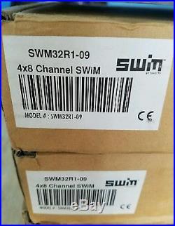 LOT OF 4 I DIRECTV SWM32 SATELLITE MULTISWITCH 4x8 CHANNEL SWM32R1-09 NIB NEW