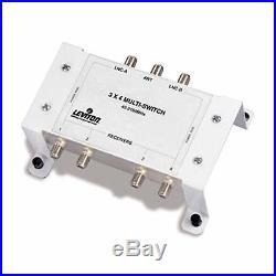 Leviton 47691-3MS 3x4 Satellite Multi Switch